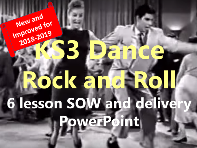 KS3 Dance Year 7 'Rock and Roll' New and Improved 6 lesson SOW and delivery PowerPoint