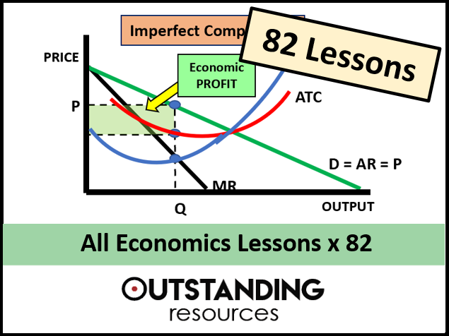 Economics: All the lessons x 82  (Covers the OCR, Edexcel, IGCSE and  A-Level syllabus)