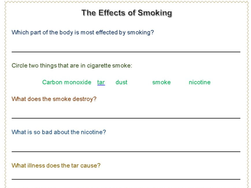 the consequences of cigarette smoking health and social care essay Impact of smoking: influence on the society and global business naganathan venkatesh percentage of singaporeans smoking cigarettes has increased to 143% of adults compared to 126% in 2004 social impacts: smoking has adverse effects on the society.
