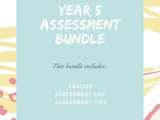 Year 5 English Assessment Bundle with loads of extras