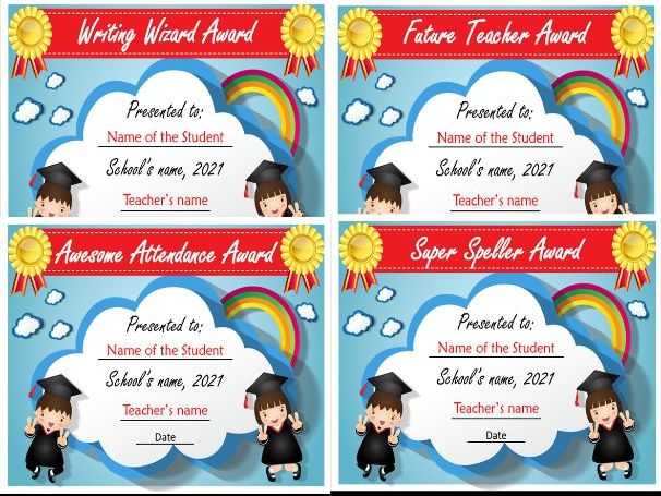 End of the Year Awards | Google Slides and Printable | Distance Learning