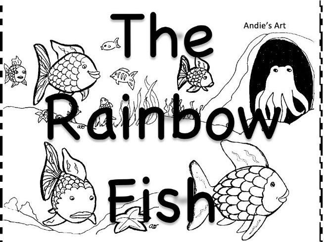 Rainbow Fish worksheets & resources KS1