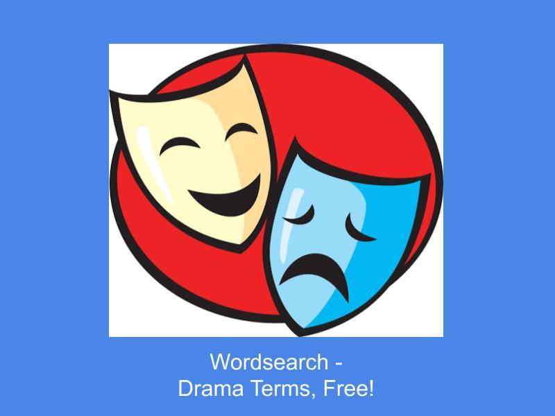 Drama Wordsearch