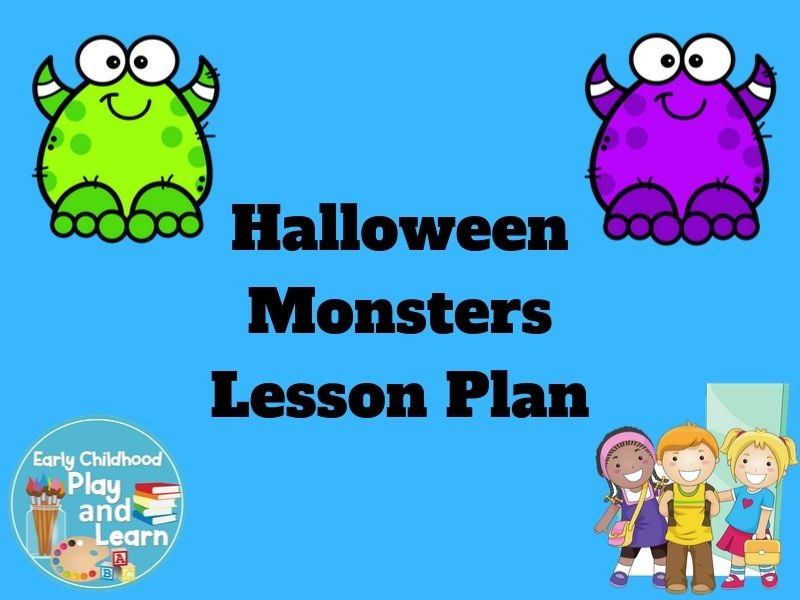 Halloween Monsters Lesson Plan