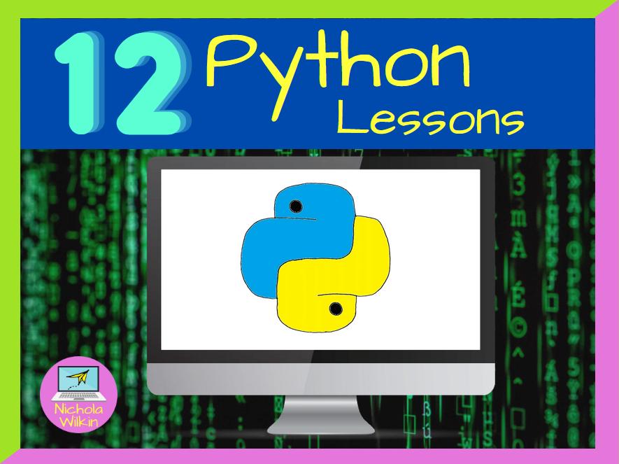 KS3 Python Programming Complete SoW