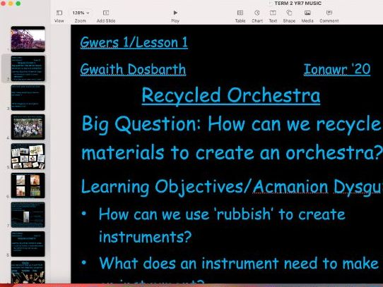 Recycled Orchestra - Rhythm and Notation  SOW