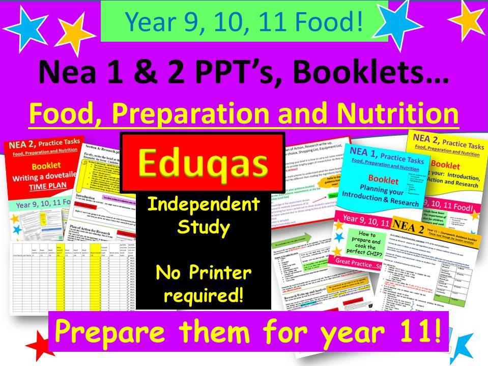 Nea 1 & 2, Food Ultimate Bundle - Eduqas