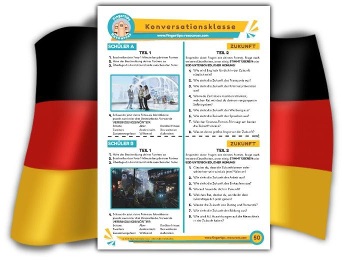 Zukunft - German Speaking Activity