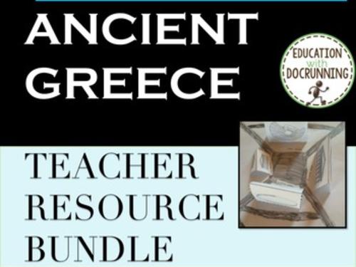 Ancient Greece Teacher Resource Bundle