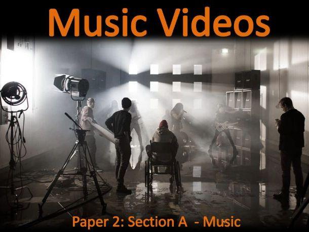 OCR MEDIA GCSE: MUSIC VIDEOS