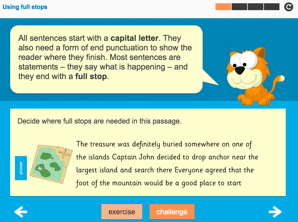 Sentence Punctuation Interactive Teaching Presentation - Year 3 Spag