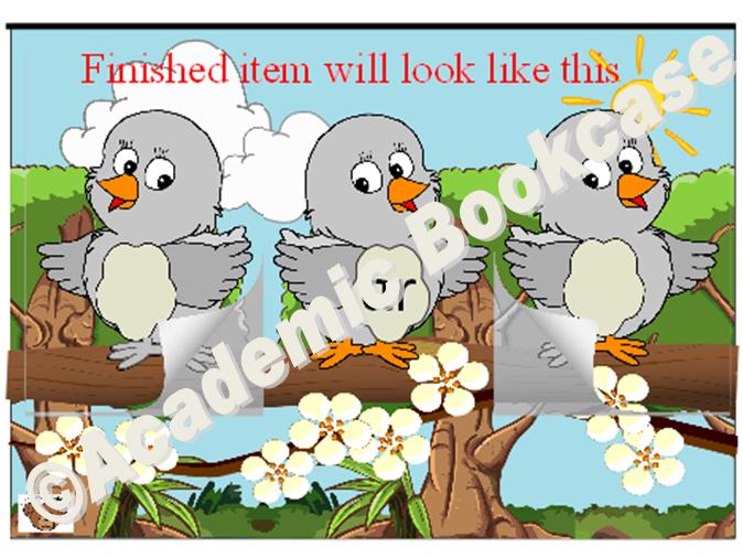 Birds word maker - Phase 3 'ar' words