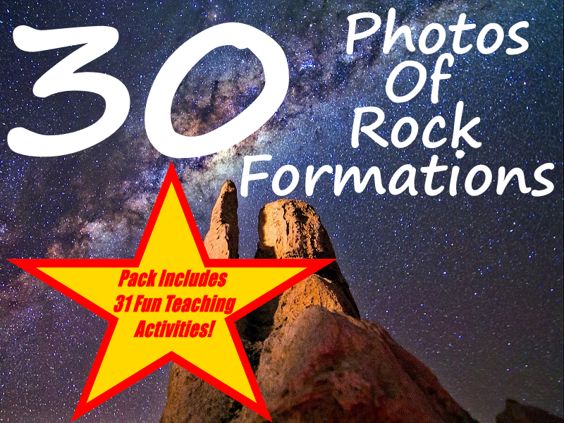 30 Rock Formation Photos + 31 Fun Teaching Activities For These Cards
