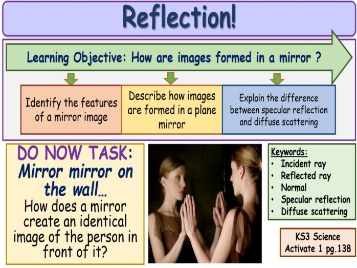 Reflection KS3 Activate Science