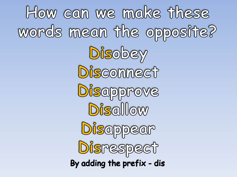 KS2 Spellings - Dis Verb Prefixes - Differentiated, Engaging, Challenging Complete Grammar Lesson