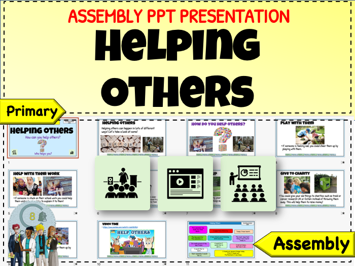 Assembly - Helping Others + Recovery Curriculum