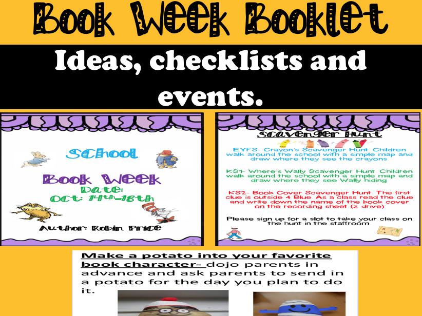 Book Week Booklet