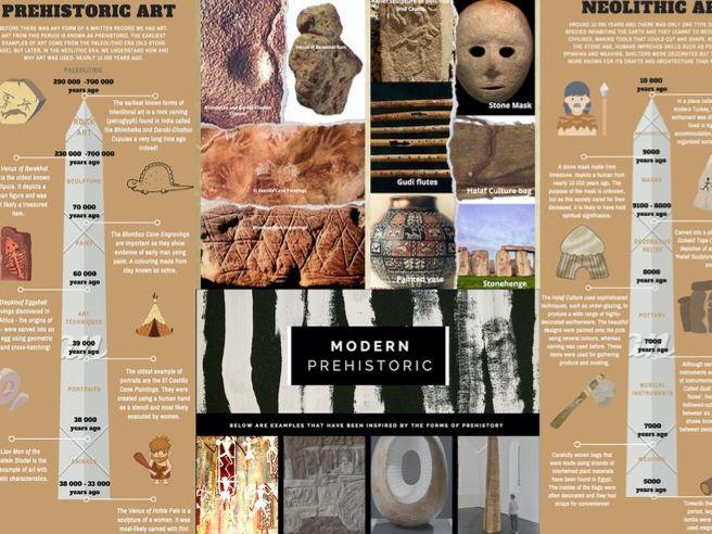 Prehistoric Art knowledge organiser