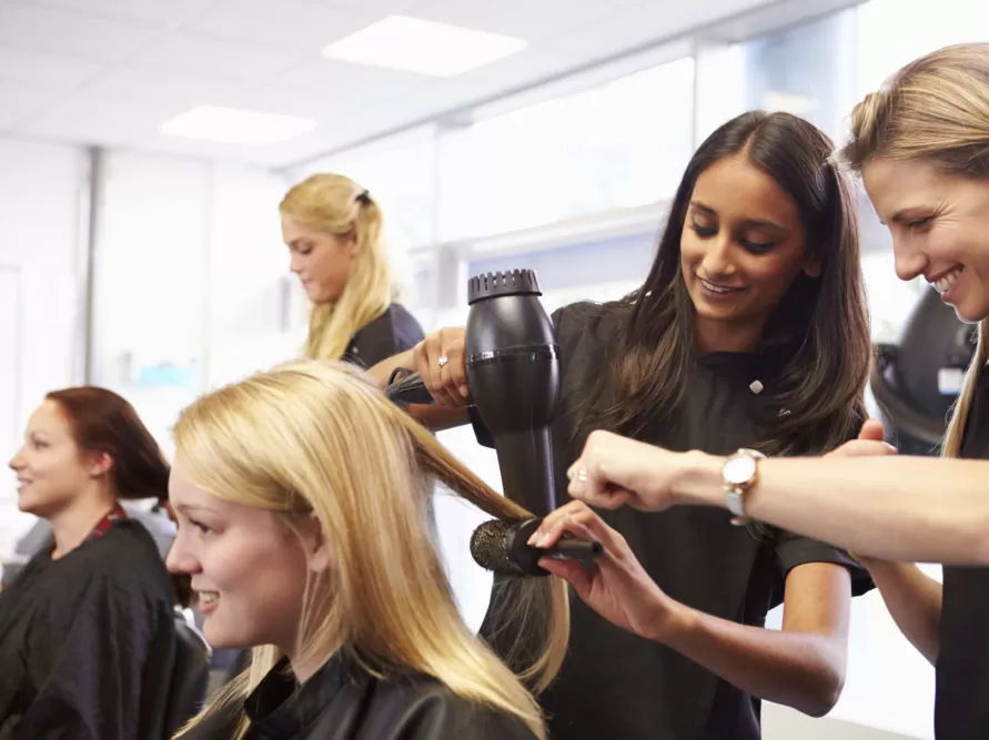 Business ownership and trade in hair and beauty