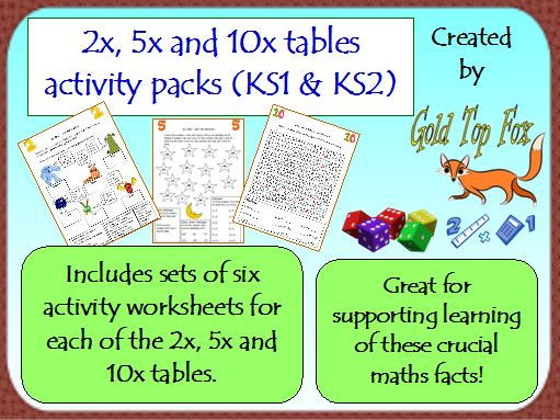 Early years maths for early years teaching resources for 10x table worksheets