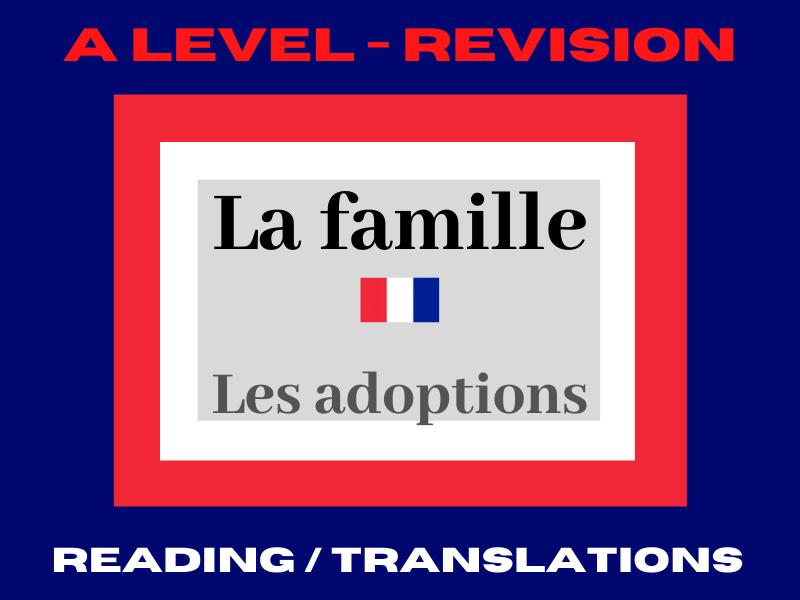 French A level adoption