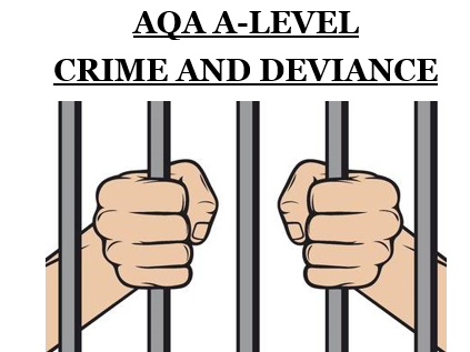AQA A-Level Sociology Crime & Deviance Bundle! [Whole Topic!]