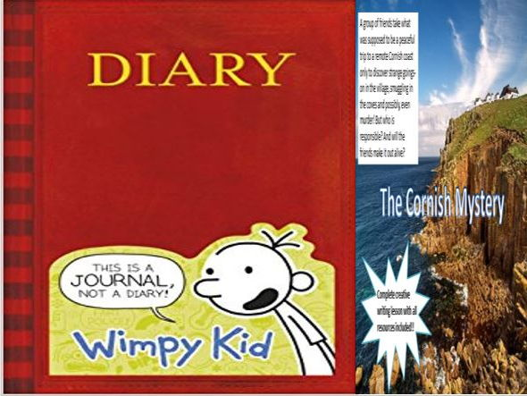 Diary of a Wimpy Kid + The Cornish Mystery