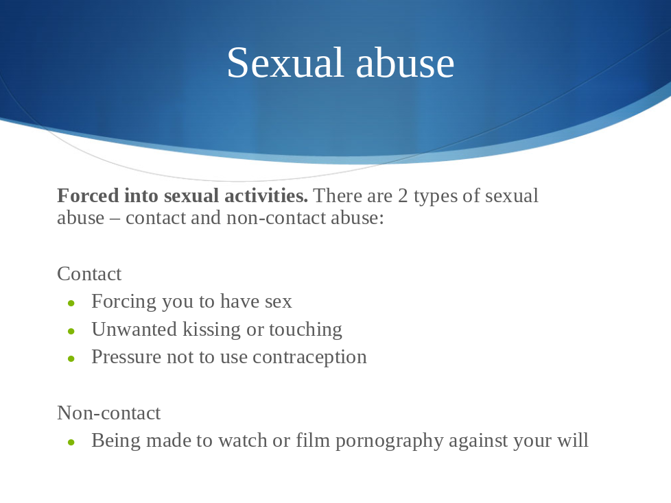 Domestic Abuse Presentation Slides for KS3, KS4 and KS5
