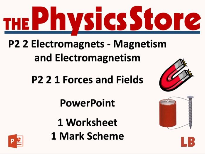 KS3 Physics AQA P2 2 1 Forces and Fields Lesson Bundle