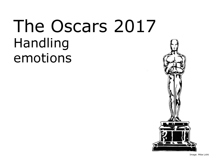 Oscars 2017 - Emotional intelligence (for Tutor time or Citizenship)