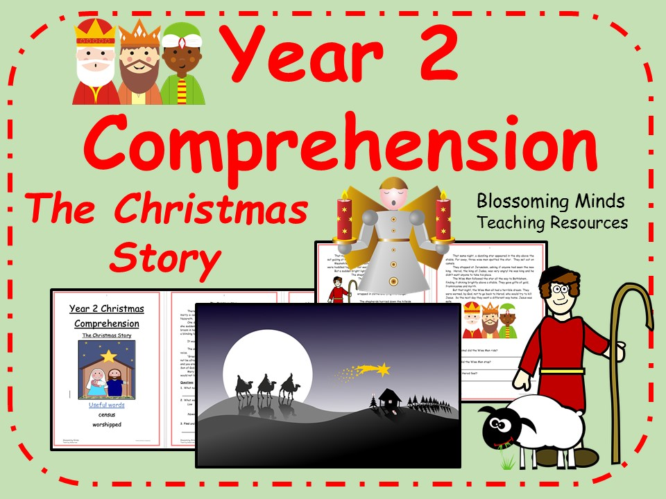Year 2 comprehension - The Christmas Story