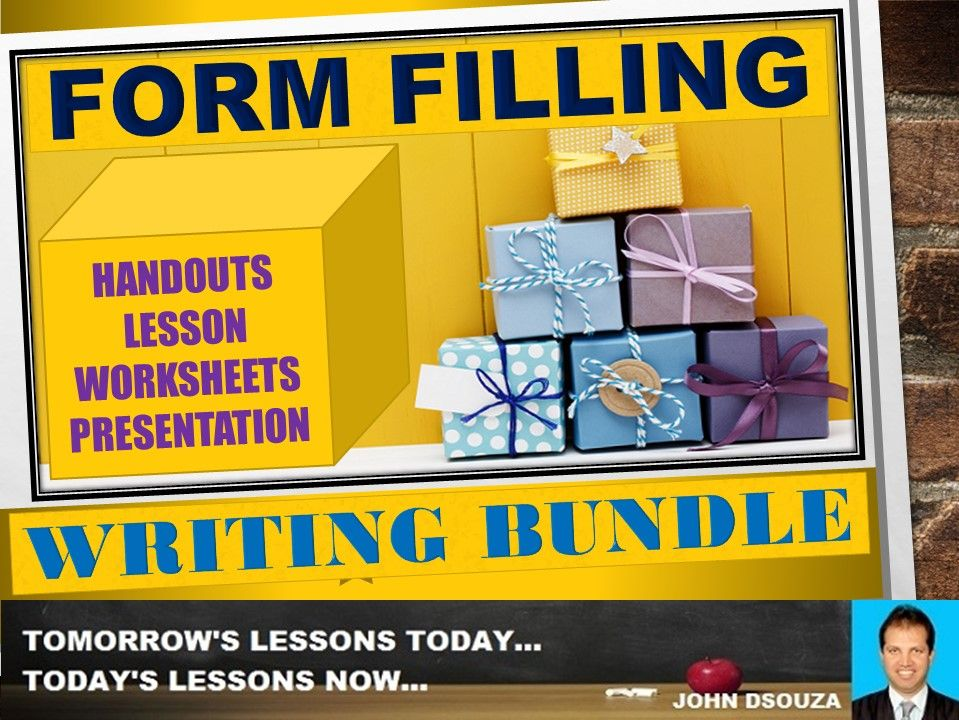 FORM FILLING: BUNDLE