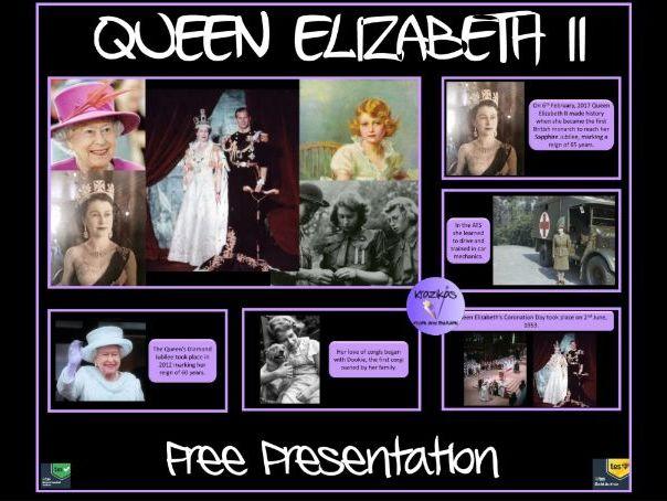 Queen Elizabeth: Free Presentation