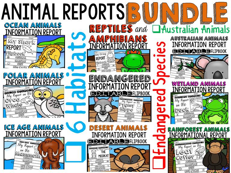 ANIMAL RESEARCH BUNDLE 1