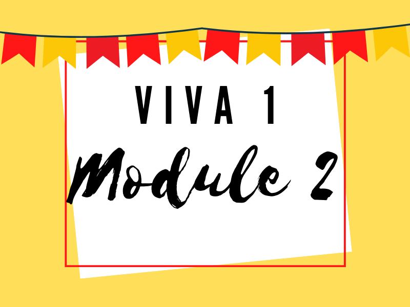 Viva 1: Module 2