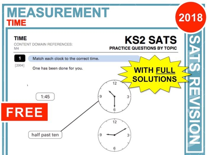 KS2 Maths (Time)