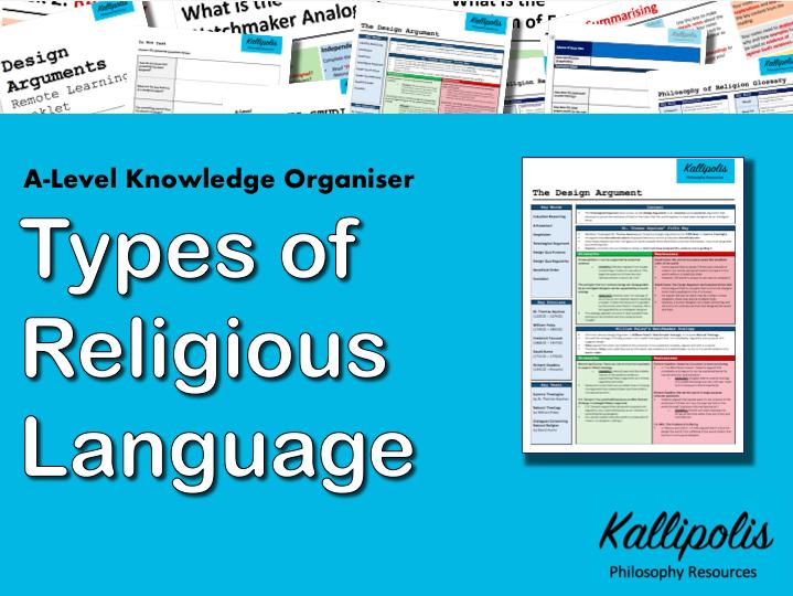 Religious Language - Knowledge Organiser