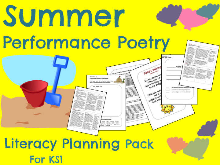 Summer Poetry - End of Year Project!