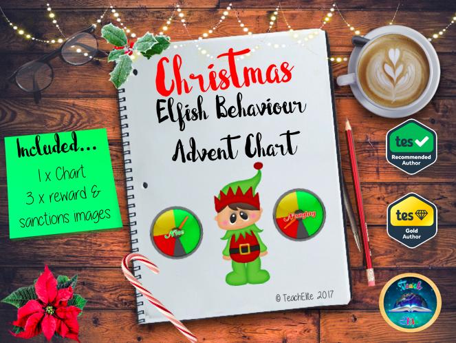 Elfish Behaviour Advent Chart