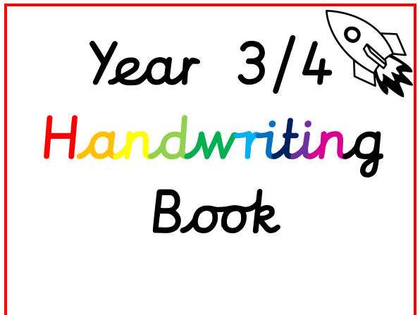 Year 3 and 4 Handwriting and Spelling