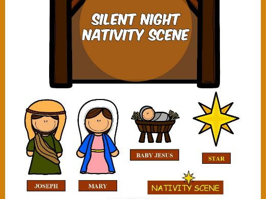 SILENT NIGHT NATIVITY SCENE