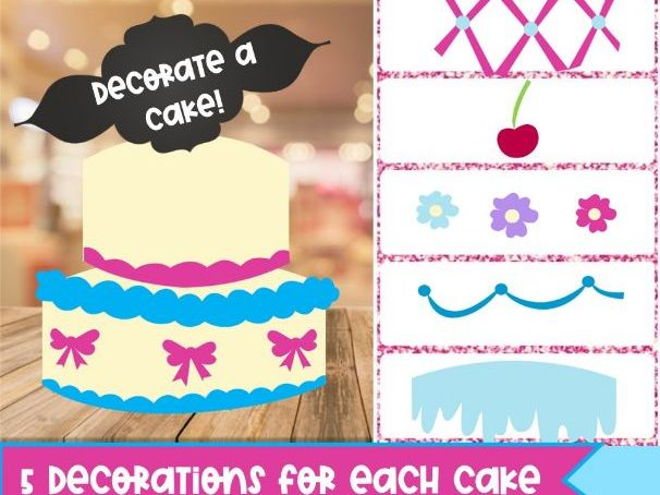 Build a Cake BOOM Deck *Distance FUN*