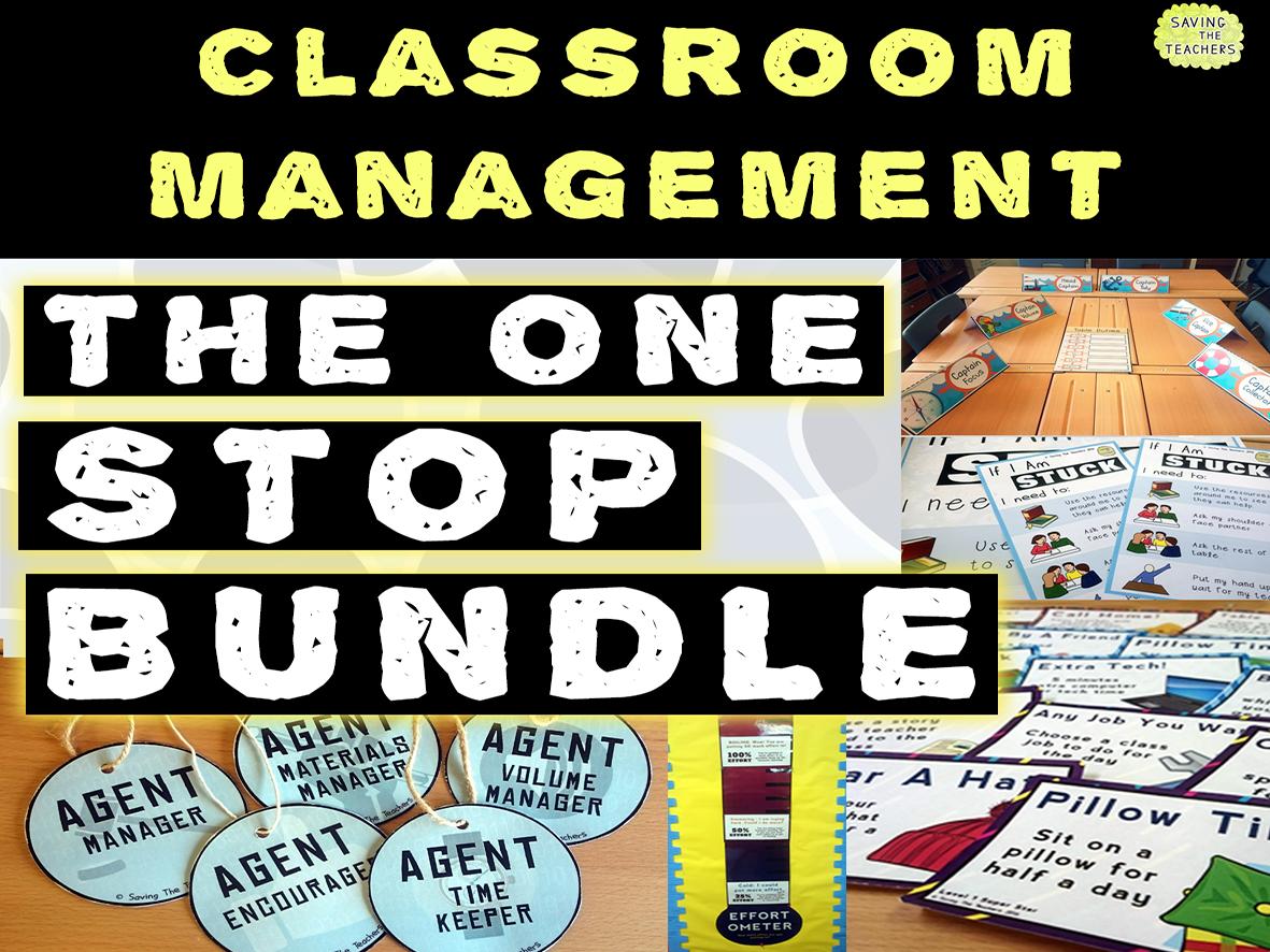 Classroom Management One Stop Bundle