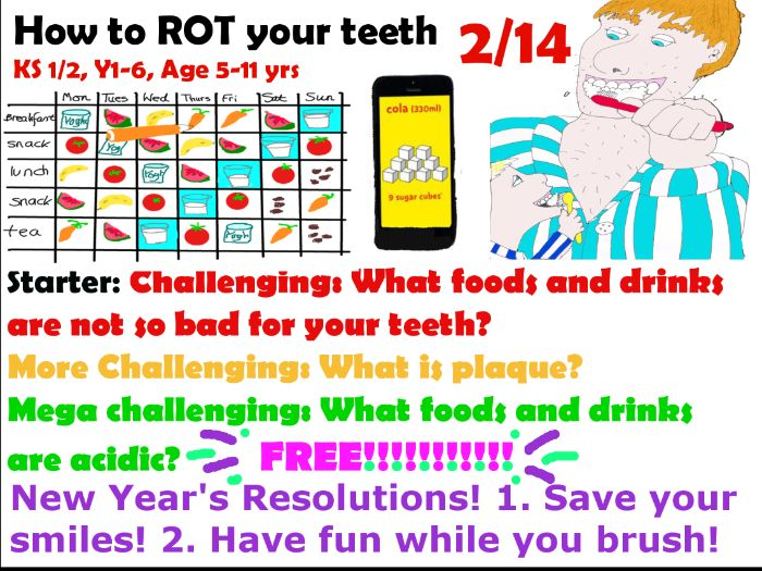 FREE Part 2/14  New Years Resolutions 'Save your smiles!'