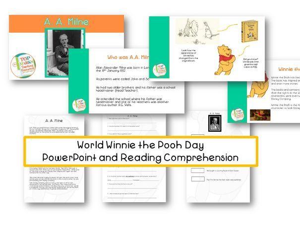 A.A. Milne - Winnie the Pooh Day