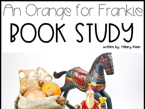 Patricia Polacco-An Orange for Frankie Christmas Unit