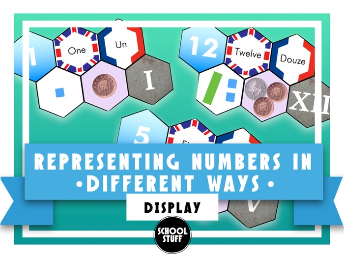 Identifying and Representing Numbers in Different Ways - School Stuff