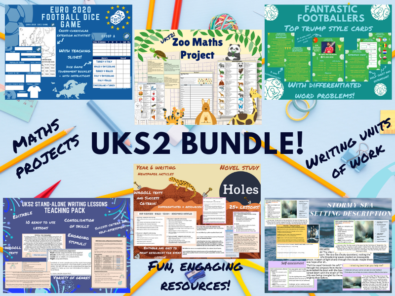 UKS2 English and Maths Bundle