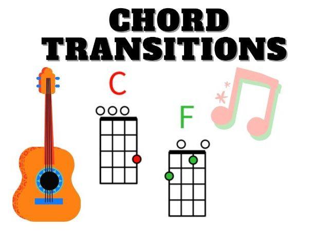 Ukulele C&F Chord Transition