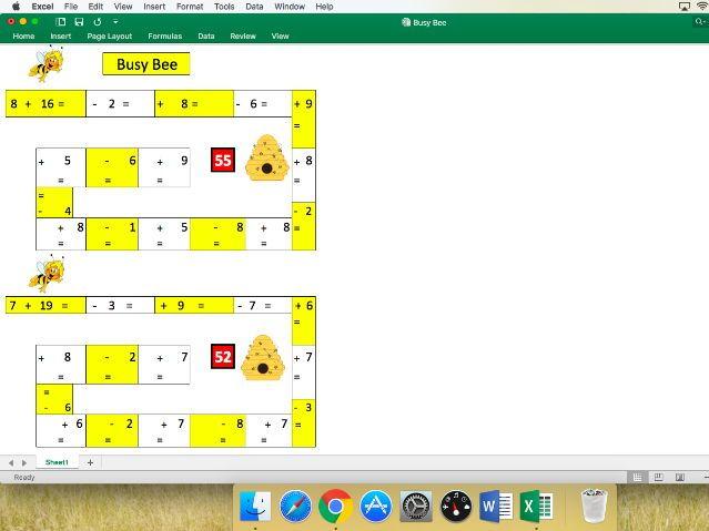 KS2 Maths - Busy Bee